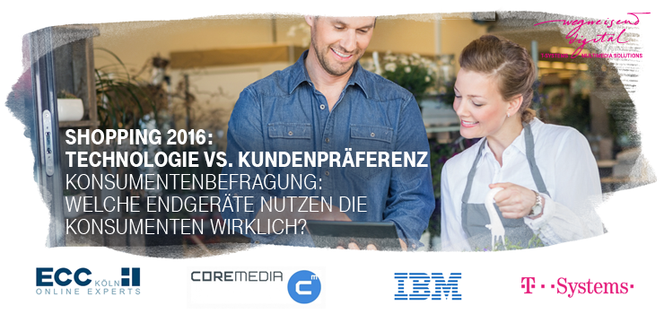 "Webinar ""Shopping 2016: Technologie vs. Kundenpräferenz"""