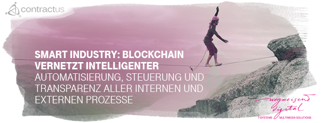 "Webinar ""Smart Industry: Blockchain vernetzt intelligenter"""